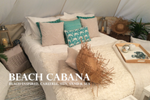 Luxury Camping Tent | Beach Bell Tent | Cool Cabanas Glamping