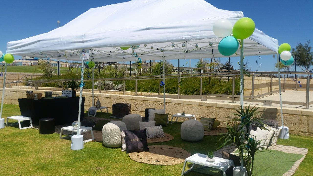 Perth marquee hire, the perfect for work parties or large functions
